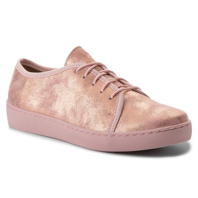 Sneakers OLEKSY - 529/952 Różowy Brokat SoKtu