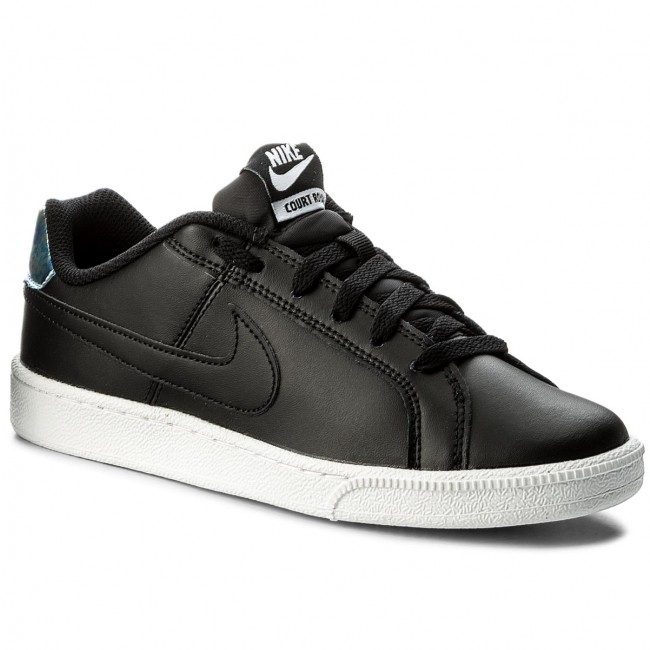 87bd147cab7fe4 Shoes NIKE - Wmns Nike Court Royale 749867 003 Black Metallic Silver ...