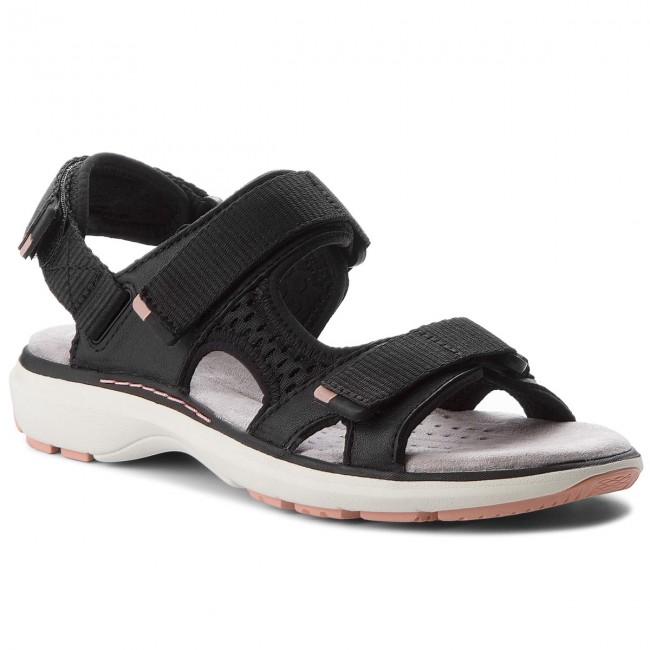 a4876134ea5 Sandals CLARKS - Un Roam Step 261324234 Black Leather - Casual ...