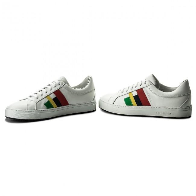Sneakers ICEBERG - 18EIU802A Piumotto Bianco
