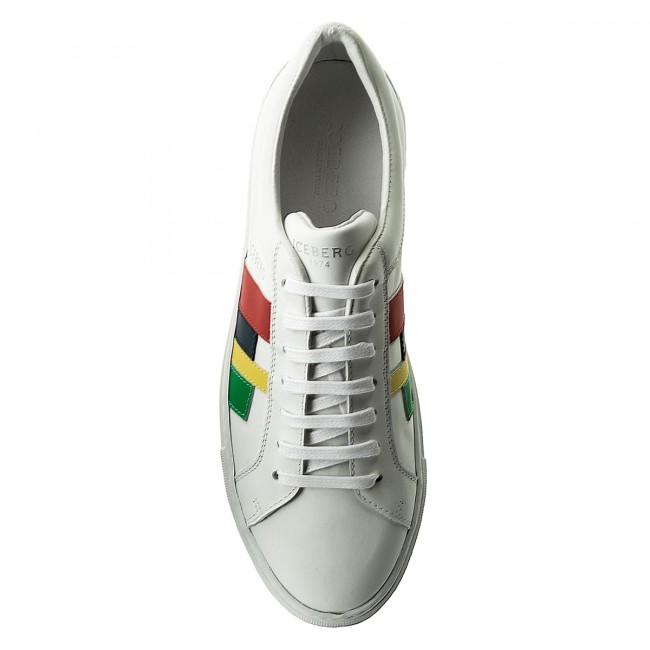Comprar Barato Con Paypal Sneakers ICEBERG - 18EIU802A Piumotto Bianco Calidad Superior Barato Toma De La Fábrica Precio Barato m1GoMDL