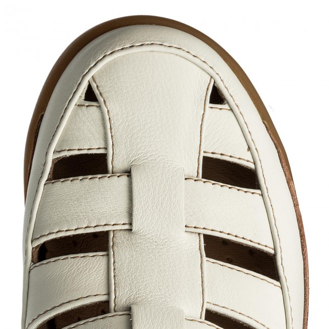 79d8655c542 Sandals CLARKS - Un Haven Cove 261332824 White Leather - Casual sandals -  Sandals - Mules and sandals - Women s shoes - www.efootwear.eu