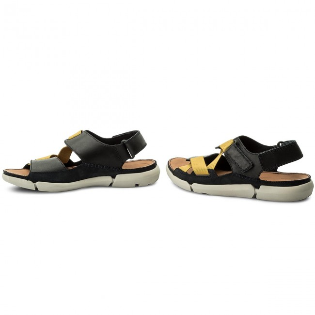 1469739ee Sandals CLARKS - Trisand Sun 261333027 Blue - Sandals - Mules and ...