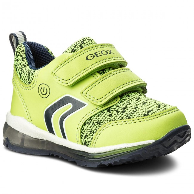 Shoes GEOX B Todo B. C B8284C 011BC C2294 LimeNavy