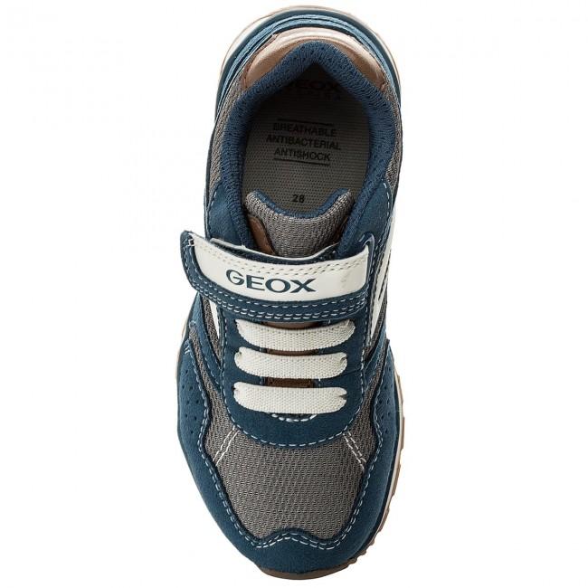 Sneakers GEOX J Pavel B J7215B 014AF C4263 S AvioGrey