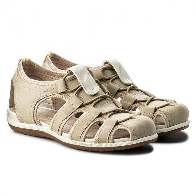 Sandals GEOX D Sand.Vega D D62R6D 0EK15 C5016 Beige zIr72