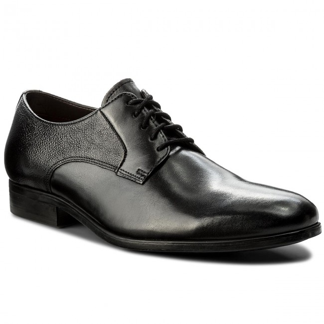 a2811a9fa99 Shoes CLARKS - Gilmore Lace 261339007 Black Leather - Formal shoes ...