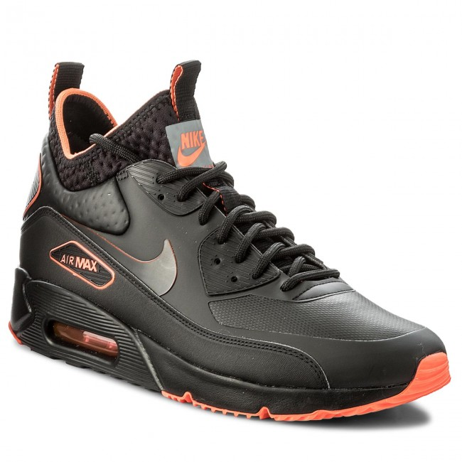 new style 7a89f 02f53 ... Shoes NIKE - Air Max 90 Ultra Mid Winter Se AA4423 001 BlackBlack Total  ...