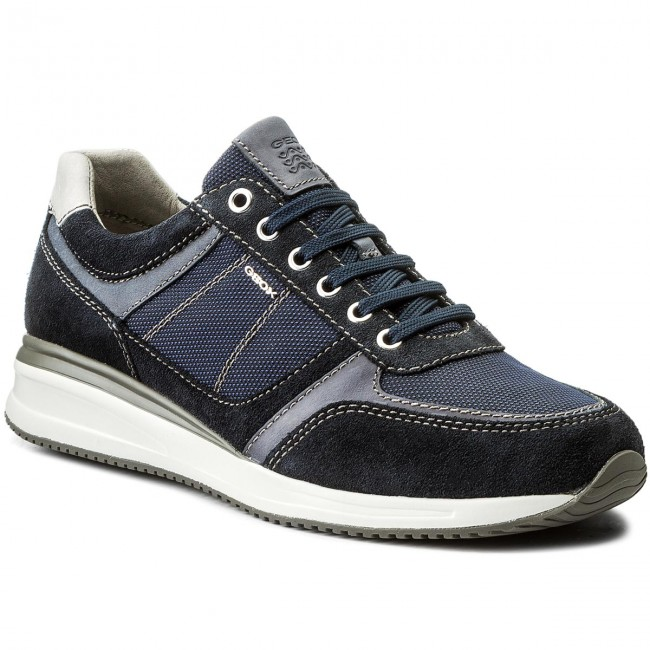 fdef3f1bbb462 Sneakers GEOX - U Dennie B U620GB 02211 C4002 Navy - Sneakers - Low ...