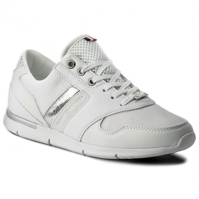 Sneakers TOMMY HILFIGER - Light Weight Breathable Sneaker FW0FW02666 White  100 f6dd7c6d9e2