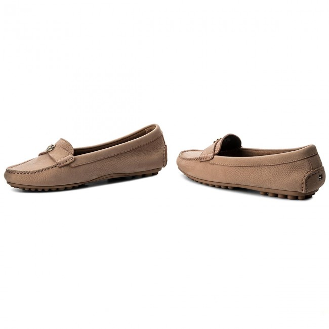 Mokassins TOMMY HILFIGER - Moccasin With Chain Detail FW0FW02783 Silky Nude 297 fTcFwmHCNG