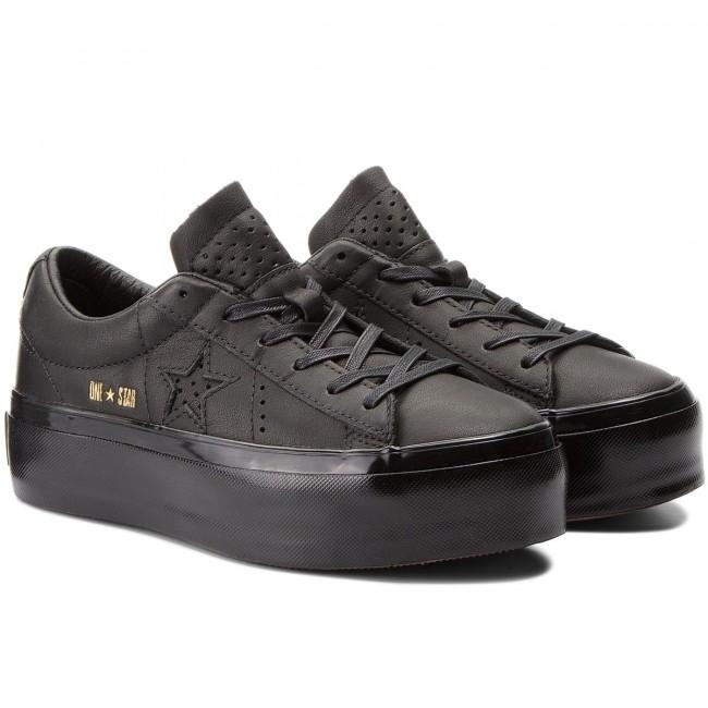 Converse One Star Platform   Schwarz   Sneaker   559898C