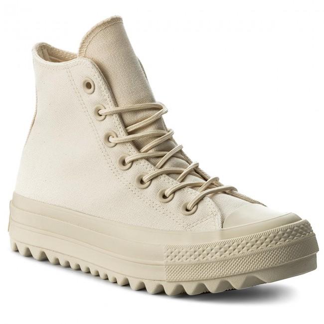 Sneakers CONVERSE - Ctas Lift Ripple Hi 559857C Natural Natural ... 3323a22c0d6