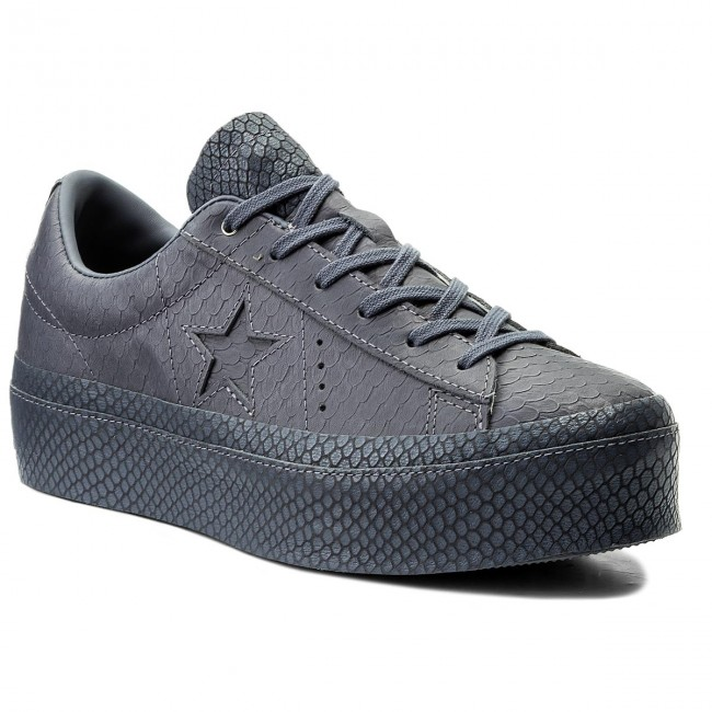 4f43eac3a4e Sneakers CONVERSE - One Star Platform Ox 559901C Light Carbon Light Carbon