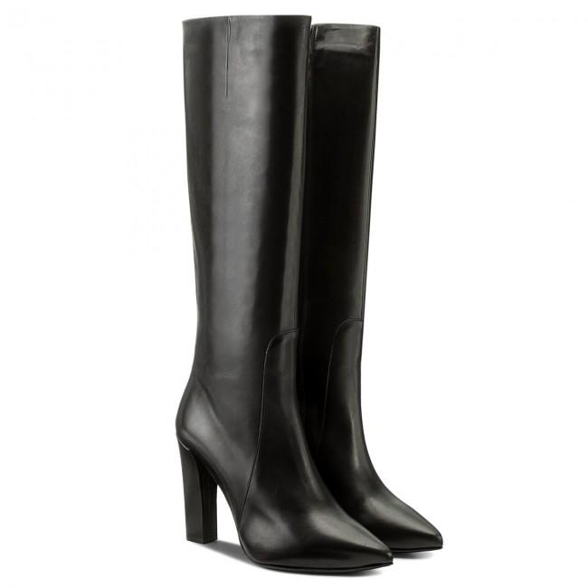 0 Boots W84 High 0900 Dkg597 Rossi Knee Salemi Gino 99 9900 TFwdq4