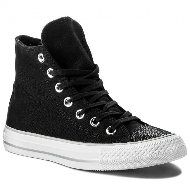 5786e87ece55 Sneakers CONVERSE - Ctas Hi 559885C Black Silver White - Sneakers ...