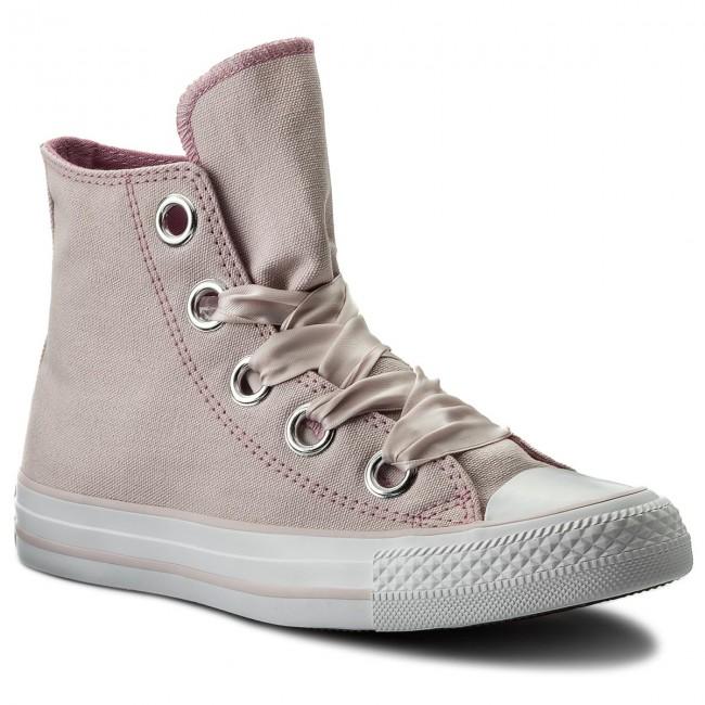 cbd02af202c Sneakers CONVERSE. Ctas Big Eyelets Hi 559917C Barely Rose Light Orchid  White