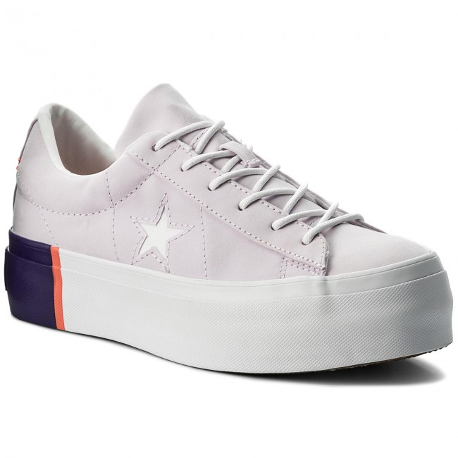 a729489f7f7f Sneakers CONVERSE - One Star Platform Ox 559902C Barely Grape Rush Coral  White