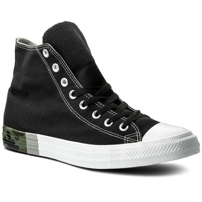 a5b93e03f9cf13 Sneakers CONVERSE - Ctas Hi 159549C Black Dolphin White - Plimsolls ...