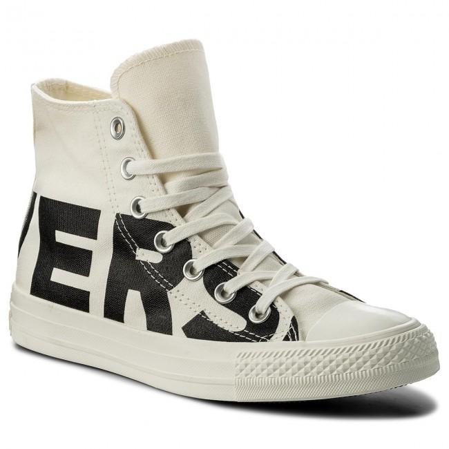 279660d2f04f27 Sneakers CONVERSE - Ctas Hi 159533C Natural Black Egret - Sneakers ...