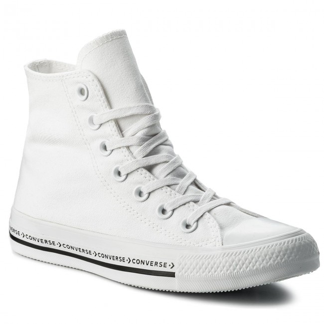 0f43e67c5629 Sneakers CONVERSE - Ctas Hi 159586C White White Black - Sneakers ...