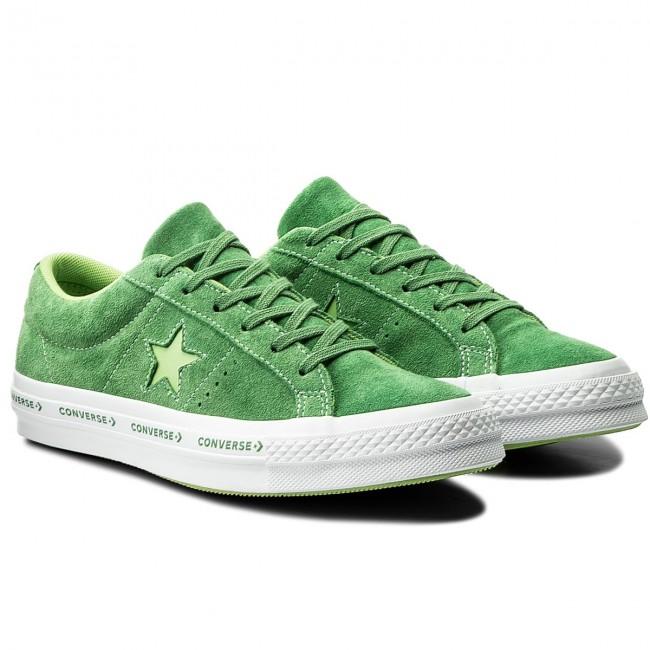 1f7d8646bff306 Plimsolls CONVERSE - One Star Ox 159816C Mint Green Jade Lime White -  Plimsolls - Low shoes - Men s shoes - www.efootwear.eu