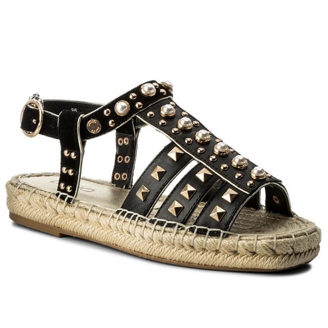 Espadrilles LIU JO - Sandalo Flat S18037 P0301 Black 22222 ofEY2P