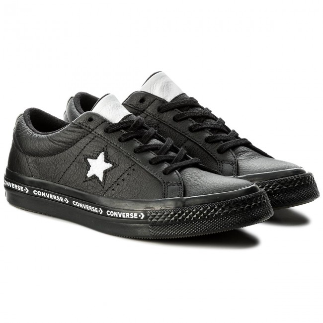 Sneakers CONVERSE - One Star Ox 159721C Black/White/Black