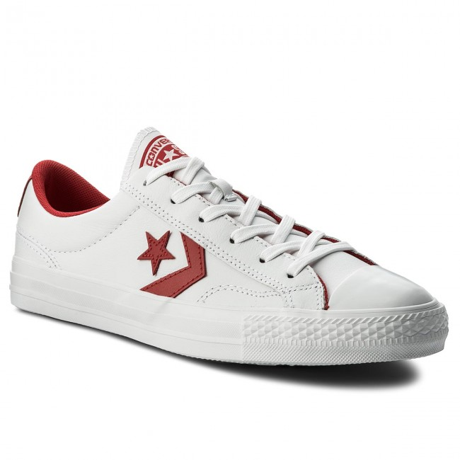 New Arrival Converse Ox Star Player Plimsolls (Red) B45z5442