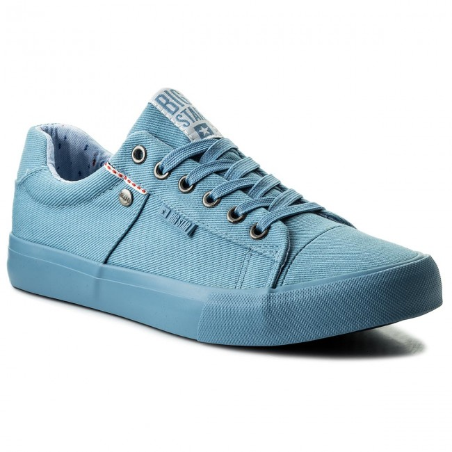 cc42f0f51c Plimsolls BIG STAR - AA174095 Blue - Plimsolls - Low shoes - Men's ...