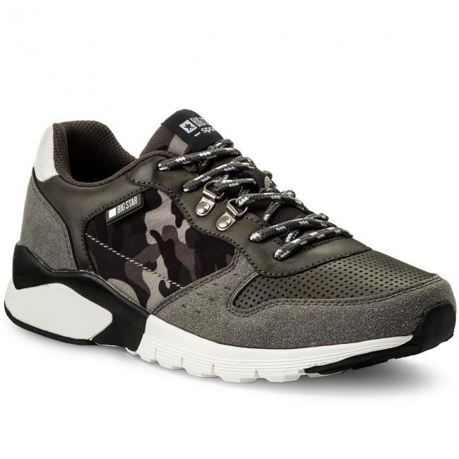 Sneakers Big Star - Aa174109 Grey uGQSz0KsDv