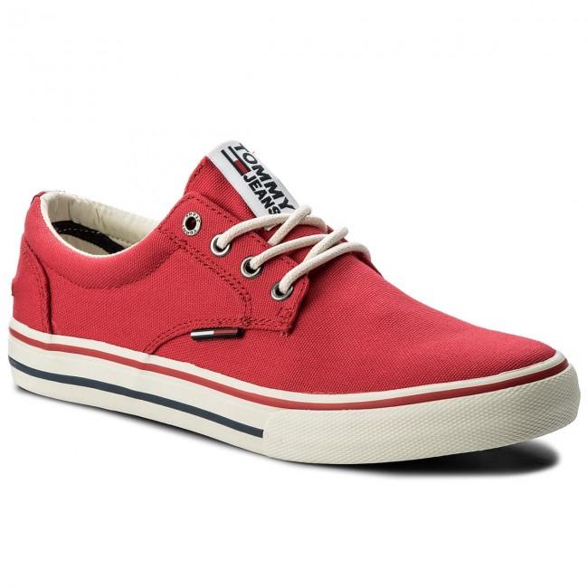 Sneakers TOMMY JEANS - Light Leather Low EN0EN00230 Black Iris 431 Oy3D84KXYI