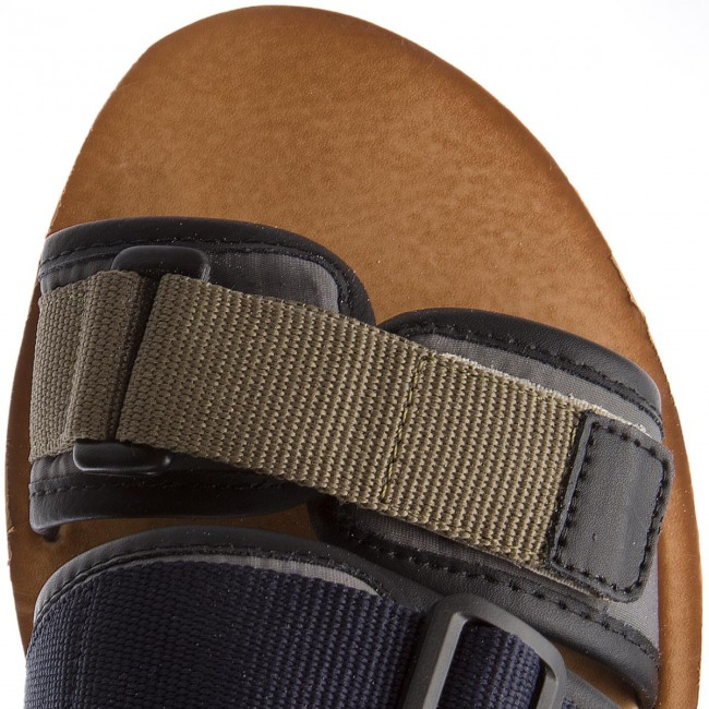 1220b8e9849933 Sandals TOMMY JEANS - Urban Tj Strap Sandal EM0EM00043 Dusty Olive 011 -  Sandals - Mules and sandals - Men s shoes - www.efootwear.eu