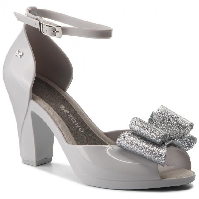 f4b1ffcaa Sandals ZAXY - Diva Bow Sandal Fem 82442 Szary/Srebrny 50802 ...