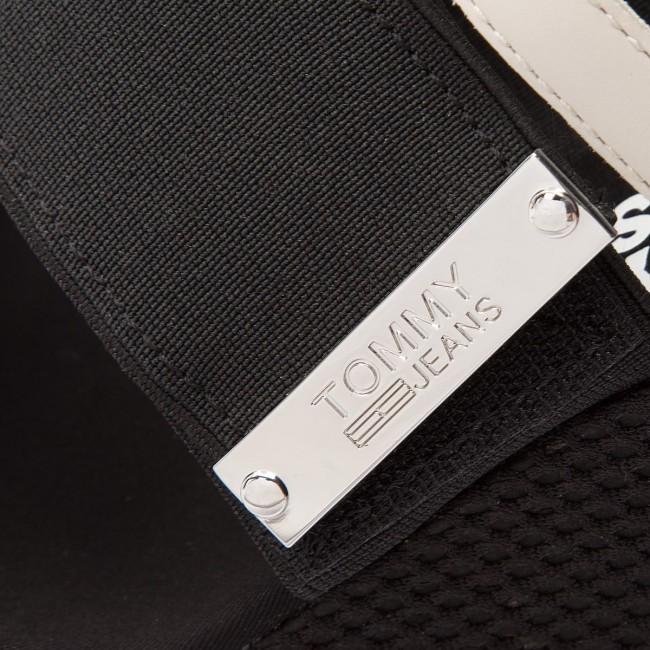6fb26ce6c2a41f Sandals TOMMY JEANS - Material Mix Wedge Sandal EN0EN00048 Off White ...