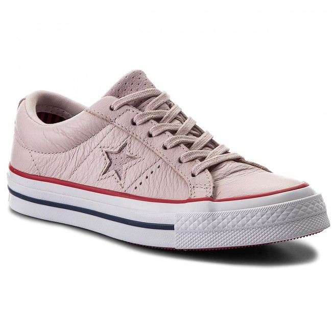 b00a81a9fc82 Plimsolls CONVERSE - One Star Ox 160623C Barely Rose Gym Red White ...