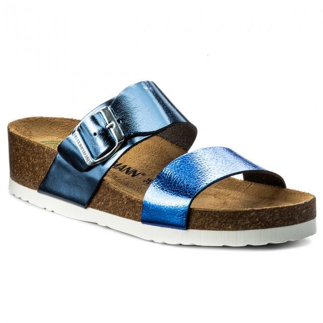 a85e37f42358d Slides DR. BRINKMANN - 701144 Blau 5 - Casual mules - Mules - Mules ...