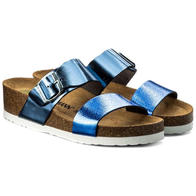 644436e184e39 Slides DR. BRINKMANN - 701144 Blau 5 - Casual mules - Mules - Mules and  sandals - Women's shoes - www.efootwear.eu