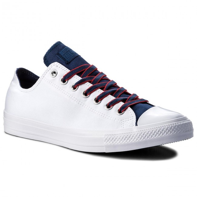 77b1651249 Sneakers CONVERSE - Ctas Ox 160467C White/Navy/Gym Red - Sneakers ...