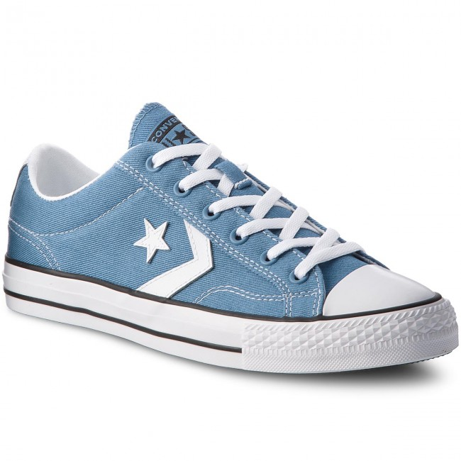750bb2dc191580 Sneakers CONVERSE - Star Player Ox 160556C Aegean Storm White Black ...