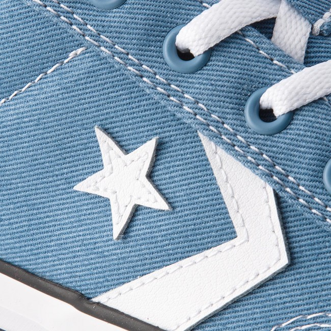 Sneakers CONVERSE - Star Player Ox 160556C Aegean Storm White Black ... c84a3dc5783