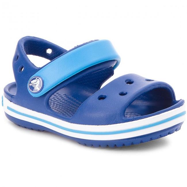 5cebec4be679b Sandals CROCS - Crocband Sandal Kids 12856 Cerulean Blue Ocean ...