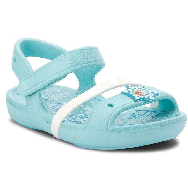 ad984c319ffd Sandals CROCS - Lina Frozen Sandal K 205016 Ice Blue - Sandals ...