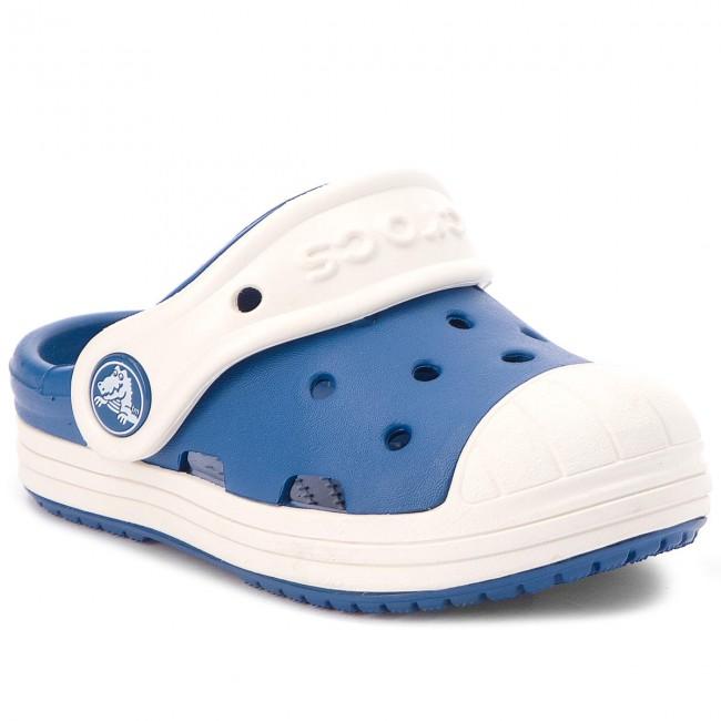 87a2e3cf08eb Slides CROCS - Bump It Clog Kids 202282 Blue Jean Oyster - Clogs and ...