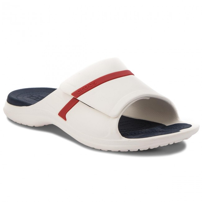 6c667d2c4a4f Slides CROCS - Modi Sport Slide 204144 White Navy Pepper - Casual ...