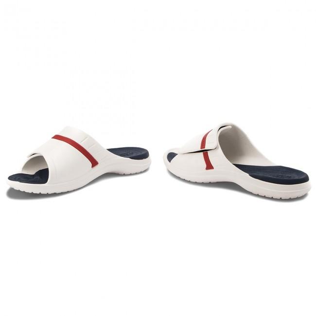 d1e0b45faf0a Slides CROCS - Modi Sport Slide 204144 White Navy Pepper - Casual ...