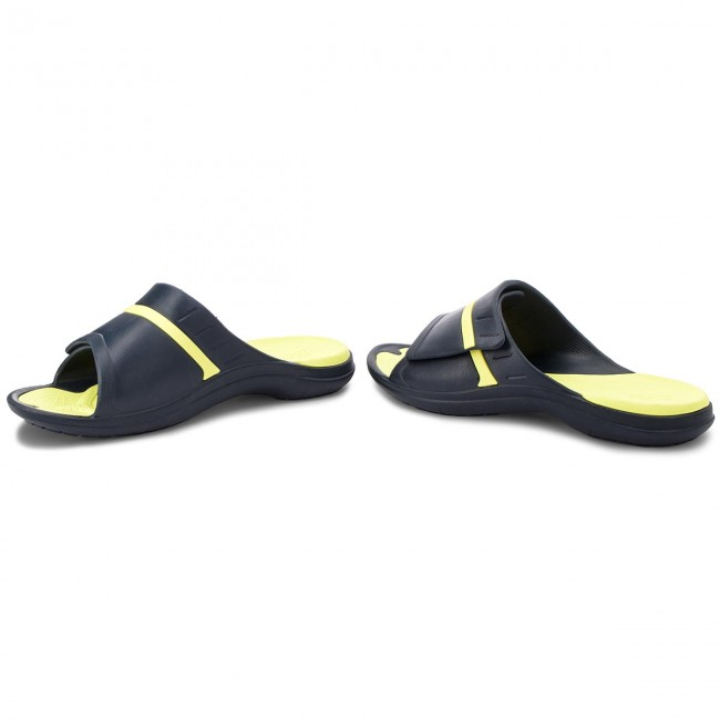 67ef58b00782 Slides CROCS - Modi Sport Slide 204144 Navy Tennis Ball Green ...