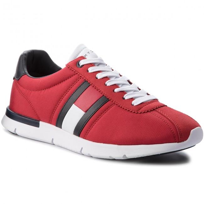 0f1e12516f Sneakers TOMMY HILFIGER - Retro Lightweight Sneaker FM0FM01329 Tango ...