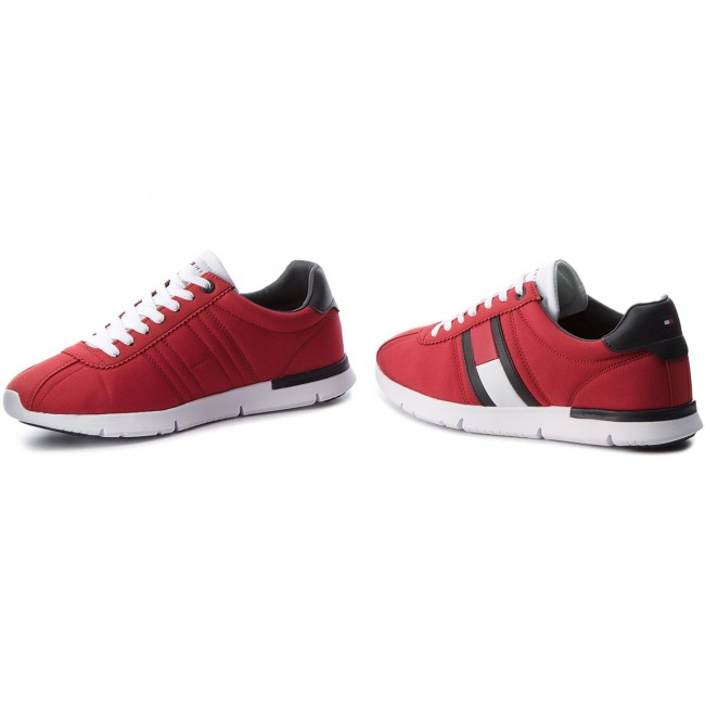 18e3fb6e0bb Sneakers TOMMY HILFIGER - Retro Lightweight Sneaker FM0FM01329 Tango Red 611