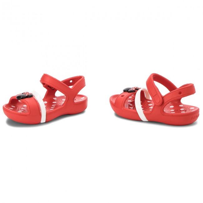 eac407440a8b3c Sandals CROCS - Lina Minnie Sandal K 204999 Flame - Sandals - Clogs ...